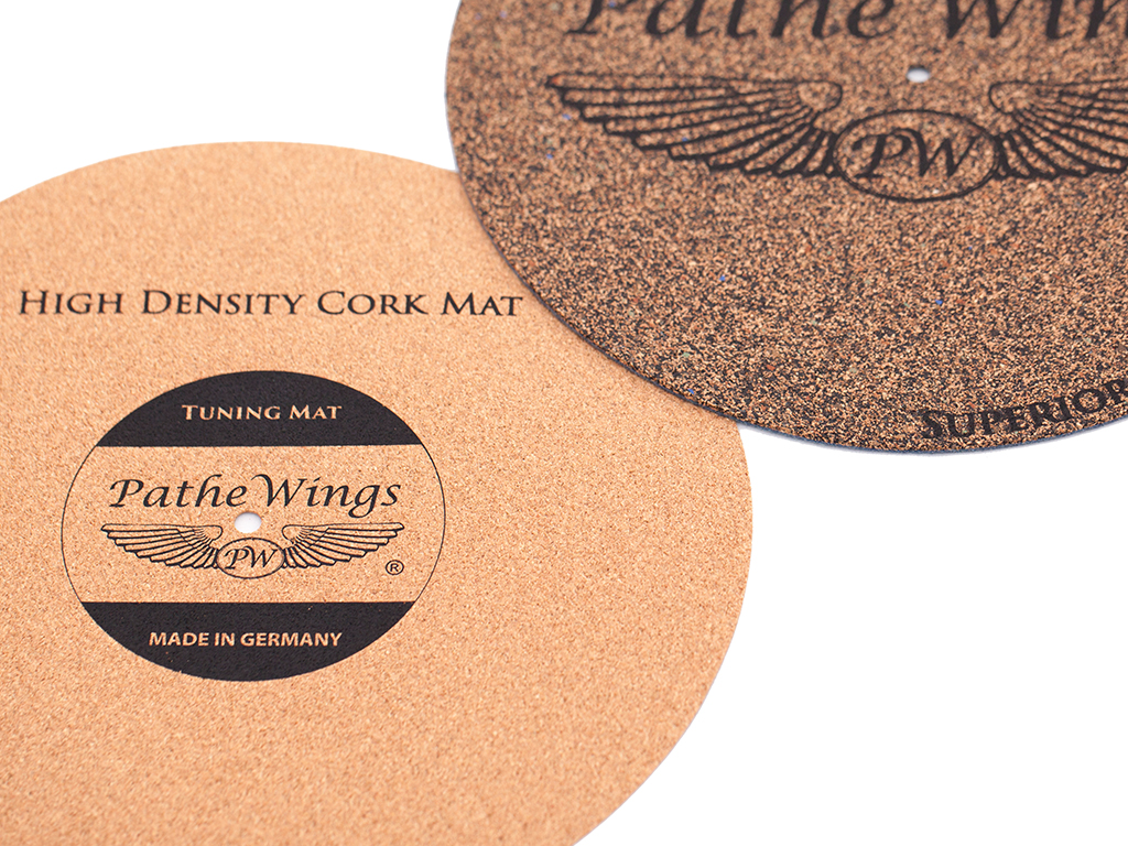 216 265 Cork Turntable Record Mat Set 3 1 Mm Vinyl Lp