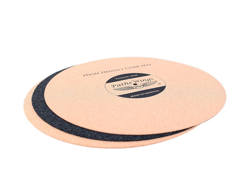 Cork Turntable Record Mat Set 3 2 1 Mm Vinyl Lp Audiophile
